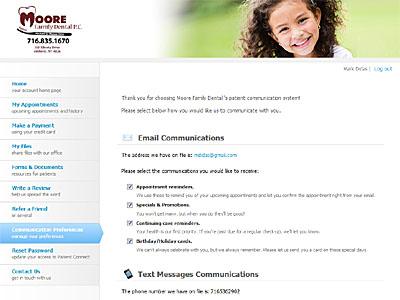Amherst Dentist Portal