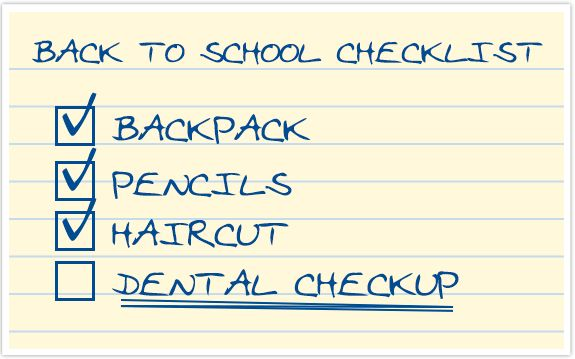 Image result for back to school' dental